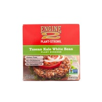 Engine 2 Plant Strong Tuscan Kale White Bean Plant Burger