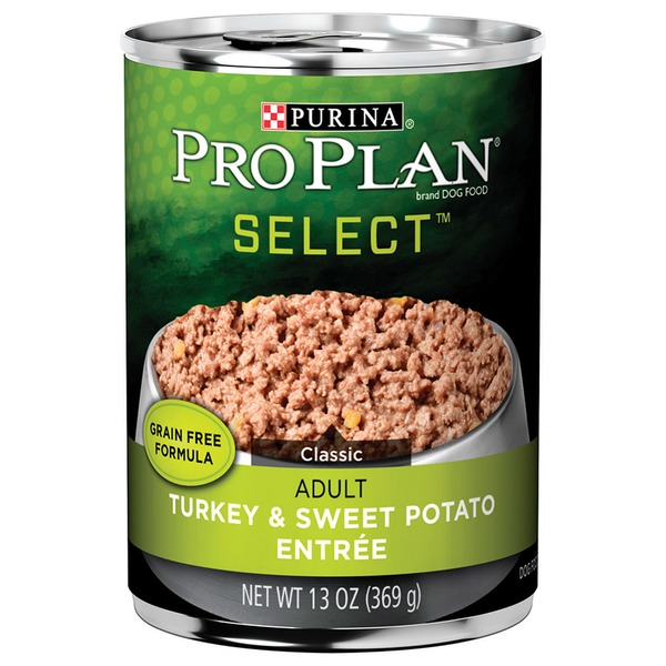 Purina Pro Plan Select Classic Grain Free Turkey & Sweet Potatoes Entree Canned Adult Dog Food