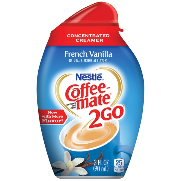 Nestlé Coffee Mate 2Go French Vanilla Concentrated Liquid Coffee Creamer