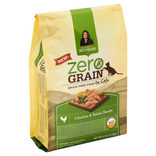 Rachael Ray Nutrish Zero Grain Cat Food Chicken & Potato