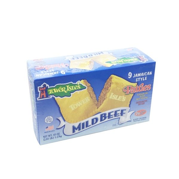 Tower Isles Mild Beef Jamaican Patties