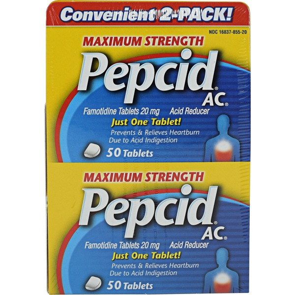 Pepcid Maximum Strength 20 mg