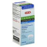 H-E-B Tussin Cough & Chest Congestion Dm Sugar Free Non Drowsy Adult
