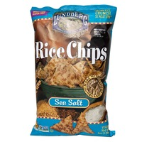 Lundberg Family Farms Sea Salt Rice Chips MWO Rice Chips