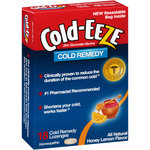 Cold-EEZE Honey Lemon Flavor Cold Remedy Lozenges
