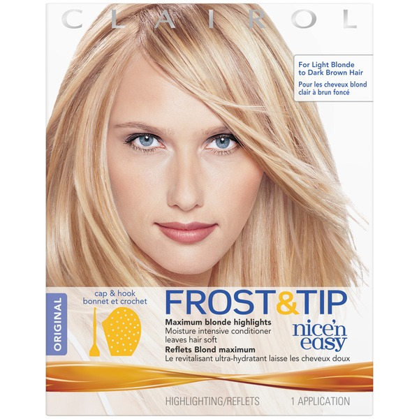 Clairol Frost & Tip Nice 'n Easy Frost and Tip Original 1 kit Female Hair Color