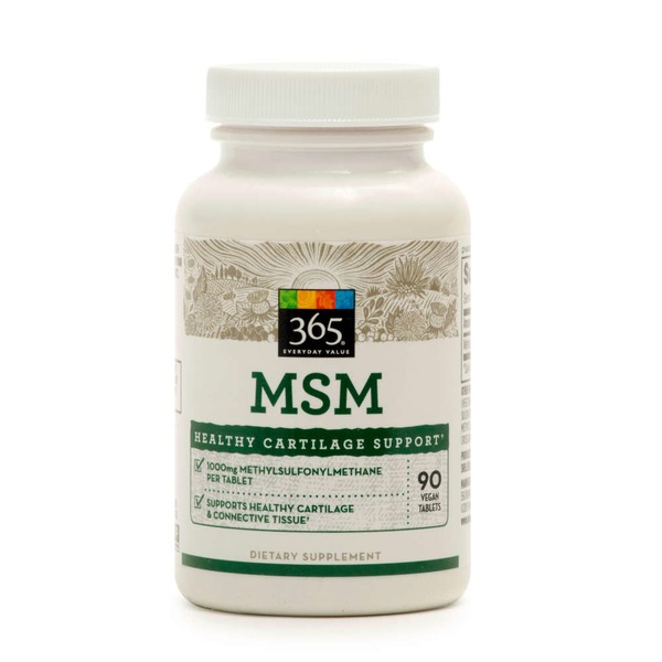 365 Msm 1000 Mg Tablets