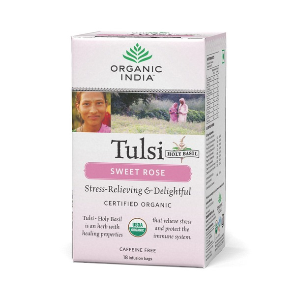 Organic India Sweet Rose Tea