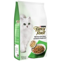 Purina Fancy Feast With Ocean Fish & Salmon Dry Cat Food, 3 Lb.