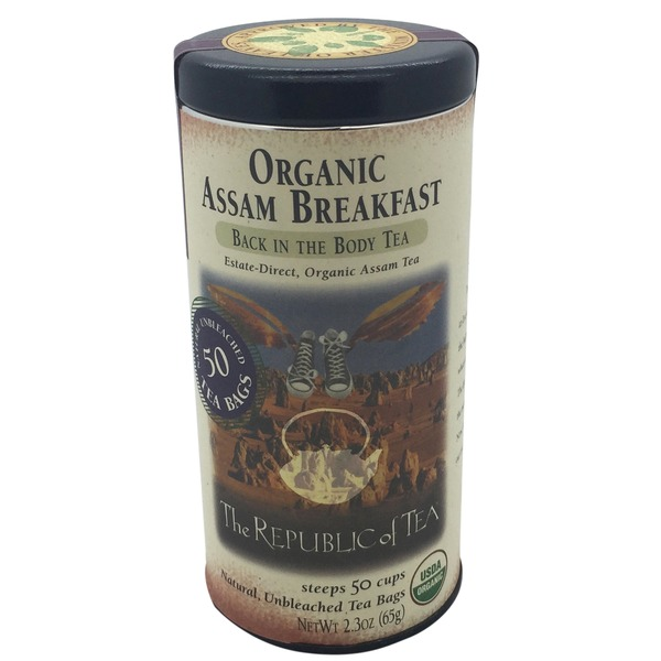 The Republic of Tea Assam Breakfast Black Tea Bags
