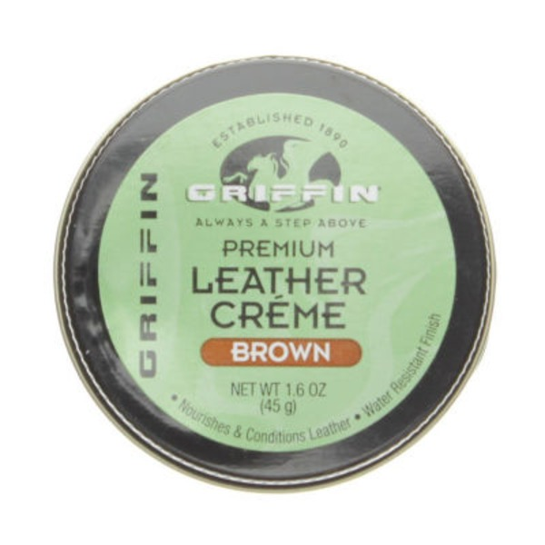 Griffin Brown Self Shining Leather Creme