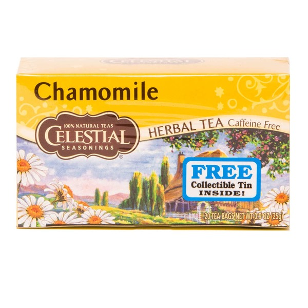 Celestial Seasonings Chamomile Herbal Tea Caffeine Free
