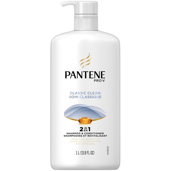 Pantene Classic Pantene Pro-V Classic Clean 2in1 Shampoo and Conditioner 33.8 fl oz with Pump Female Hair Care