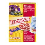 Lunchables Pizza with Pepperoni Lunch Combinations, 4.7 OZ