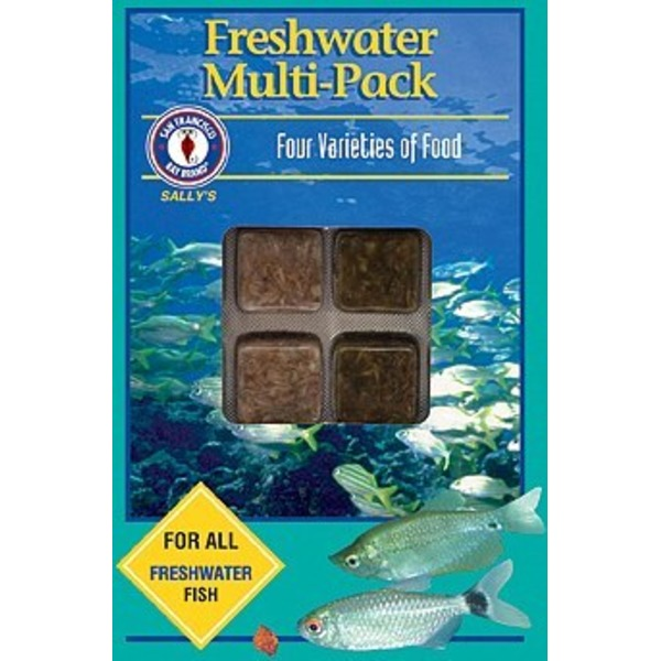 San Fransisco Bay Brand Freshwater Multi-pack Four Varieties of Food