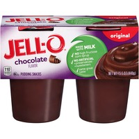 Jell O Ready To Eat Chocolate Pudding Snacks