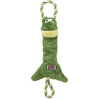 Kong Co. Tugger Knots Frog Dog Tug Toy