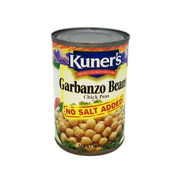 Kuners Garbanzo Beans No Salt Added