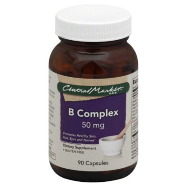 Central Market B Complex 50 mg Capsules