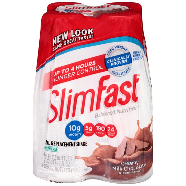 Slimfast Balanced Nutrition Creamy Milk Chocolate Meal Replacement Shake