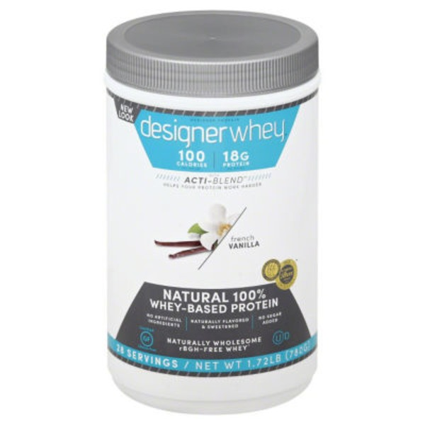 Designer Whey Powder - French Vanilla