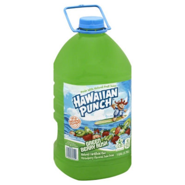 Hawaiian Punch Green Berry Rush Juice Drink