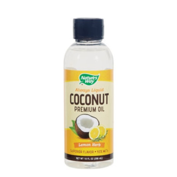 Nature's Way Lemon Herb Liquid Coconut Oil