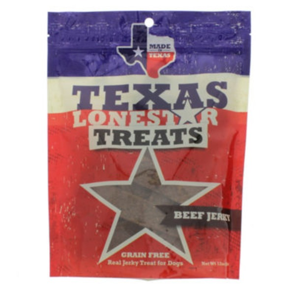 Texas Lonestar Treats, Beef Jerky
