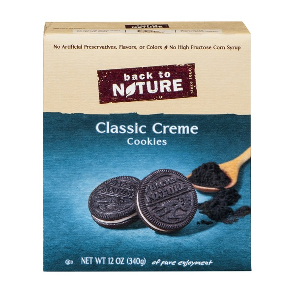 Back to Nature Cookies Classic Creme