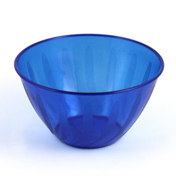 Maryland Plastics Dark Blue Swirls Small Bowl