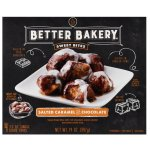 Better Bakery Sweet Bites Salted Caramel and Chocolate, 4 / 3.5 oz single serve trays