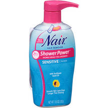 Nair Shower Power Sensitive Formula Hair Remover