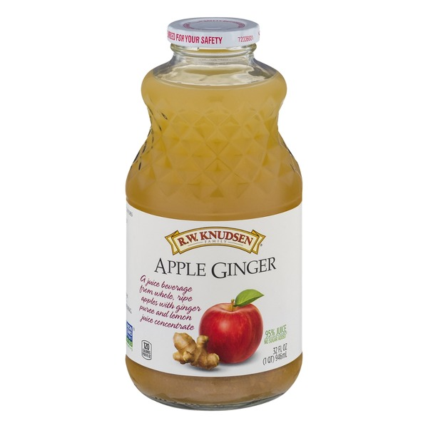 R.W. Knudsen Family R.W. Knudesen Apple Ginger Juice