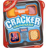 Armour Cracker Crunchers Cooked Ham with Nestle Crunch Bar LunchMakers