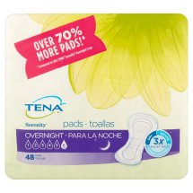 Tena Incontinence Pads for Women, Overnight (Choose Your Count)