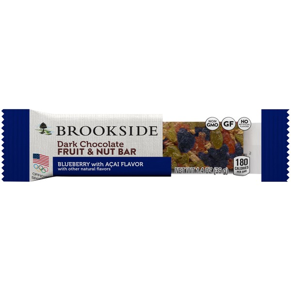 Brookside Blueberry with Acai Flavor Dark Chocolate Fruit & Nut Bar