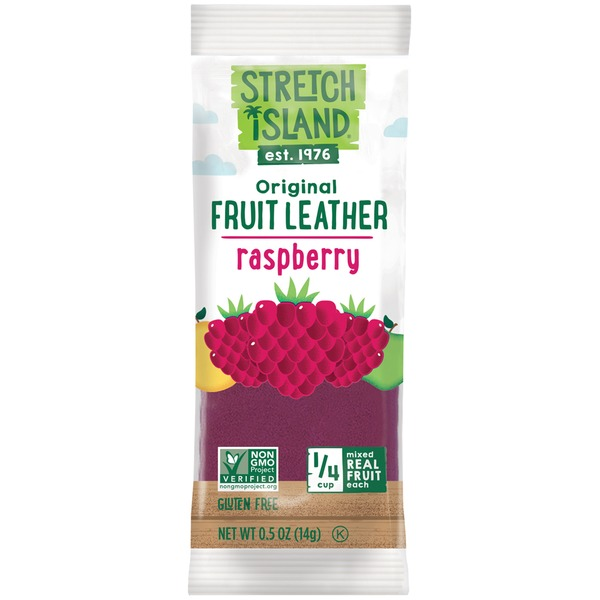 Stretch Island Fruit Original Raspberry Fruit Strip