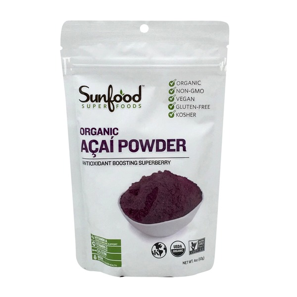 Sunfood Nutrition Raw Acai Powder