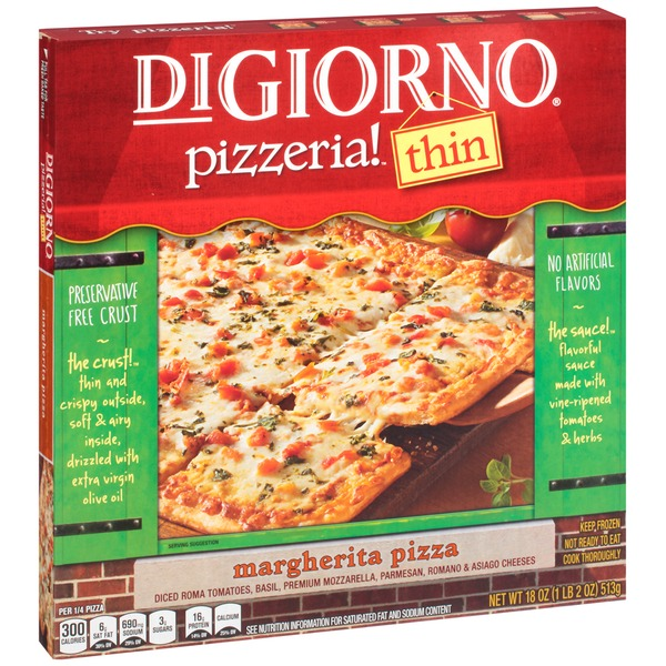 DiGiorno Pizzeria! Thin Margherita Pizza