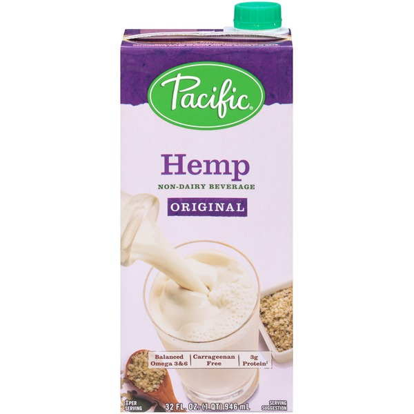 Pacific Hemp Original Non-Dairy Beverage