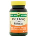 Spring Valley Tart Cherry Extract Capsules, 1200 mg, 90 Ct