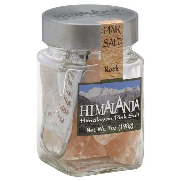 Himalania Pink Salt Rock with Grater