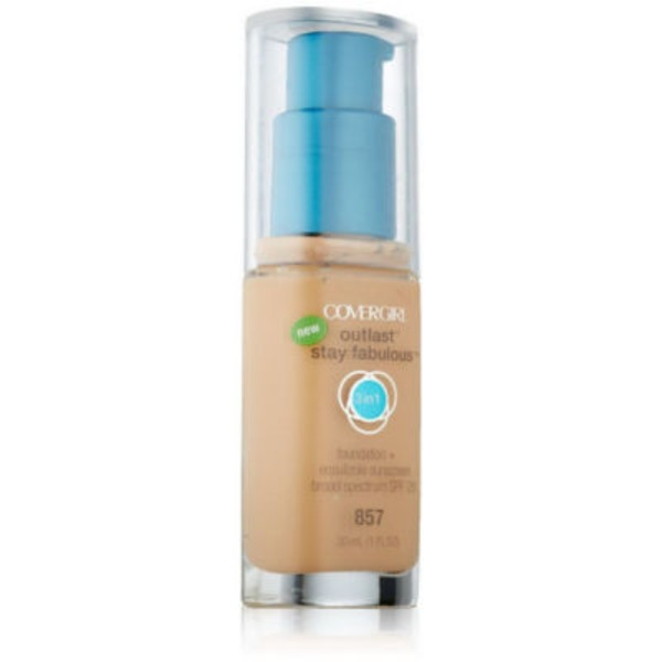 CoverGirl Stay Fabulous COVERGIRL Outlast Stay Fabulous 3-in-1 All Day Foundation Golden Tan, 1 fl oz (30 ml) Female Cosmetics