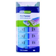 Ezy Dose AM/PM Travel Pill Pods Pill Planner