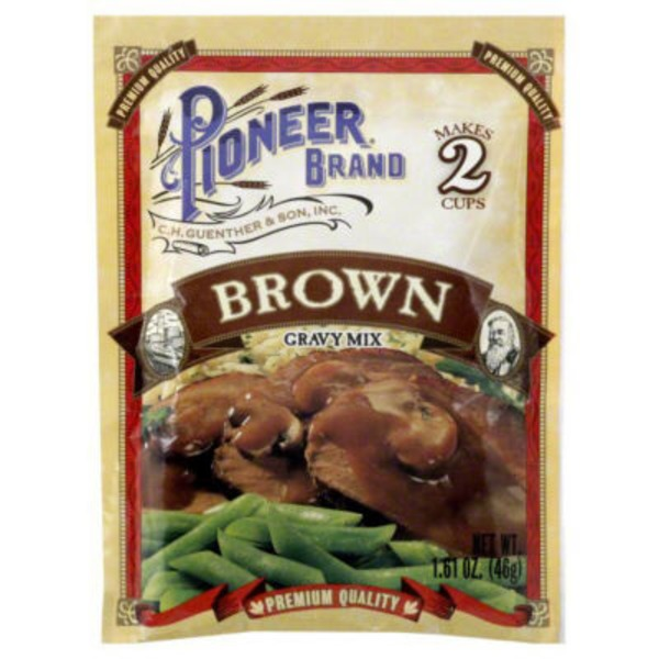 Pioneer Brand Brown Gravy Mix