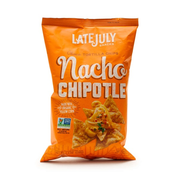 Late July Tortilla Chips Nacho Chipotle