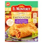 El Monterey Beef, Mozzarella and Monterey Jack Cheese with Mild Jalapenos Empanadas 5 count