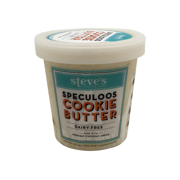 Steve's Ice Cream Dairy-Free Speculoos Cookie Butter Ice Cream