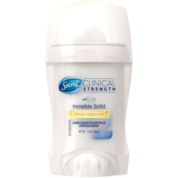 Secret Clinical Strength Invisible Solid Women's Antiperspirant & Deodorant Stress Response