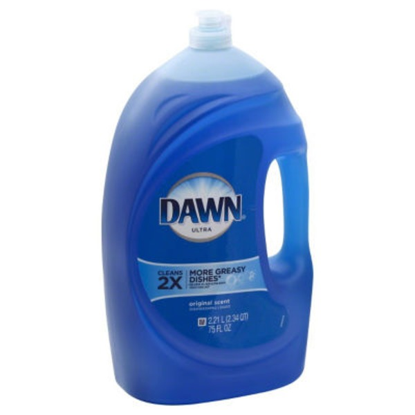 Dawn Ultra Dishwashing Liquid Original Scent 75 Oz Dish Care